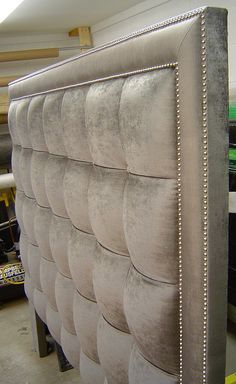 Fabric Upholstered Headboard - Photo ID# DSC06548f | by ampupholstery