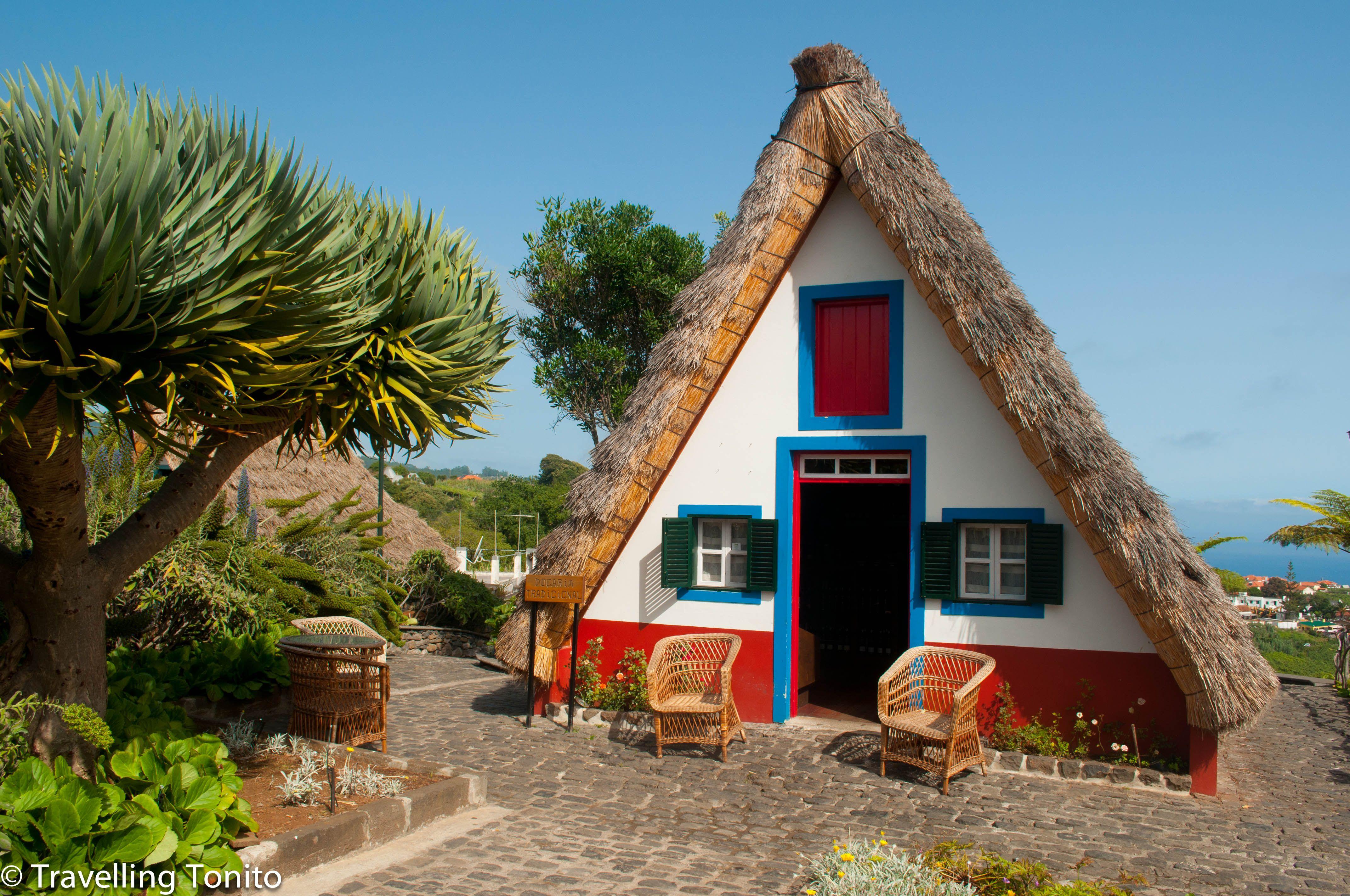 Casas de Santana, Madeira, Portugal Casas tradicionales