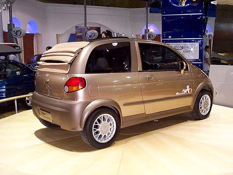 Daewoo Matiz Canvas Top Car Model Daewoo Concept Cars
