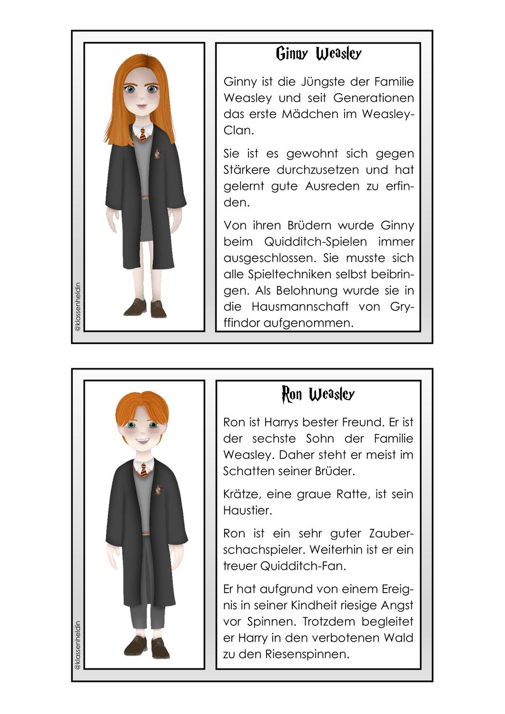 Abschreibkartei Harry Potter Unterrichtsmaterial Im Fach Deutsch Harry Potter Harry Potter Schule Schulunterricht