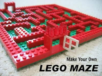 Lego Maze Kids Idea