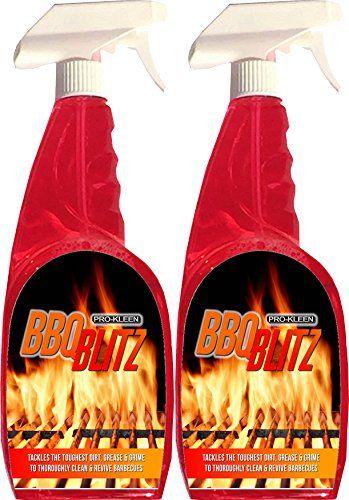 Pro-Kleen BBQ Blitz Kit 2 x 750ml Pro-Kleen Super Strength Barbecue Cleaner
