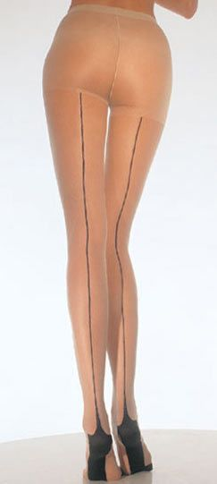 Back Seam Pantyhose Lycra Industrial