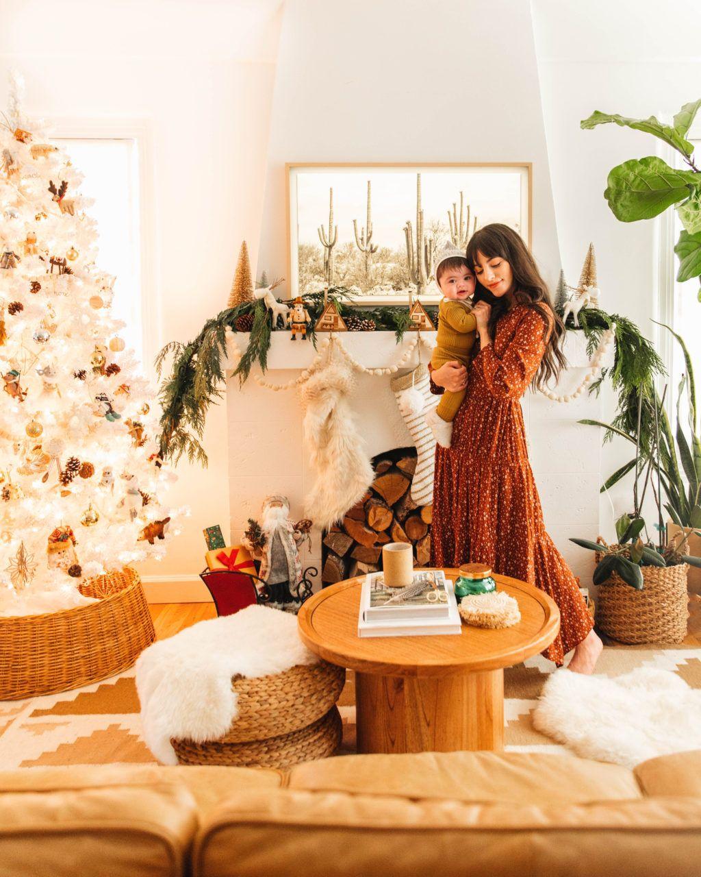 Neutral Holiday Decor Neutral Holiday Decor Holiday Decor Christmas Green Decor