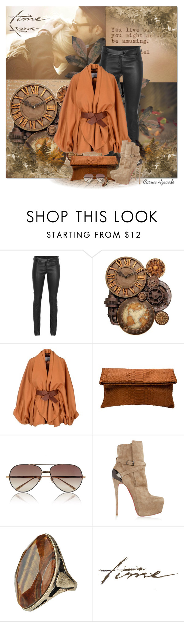 """""""Today... I'll try anything once, twice if I like it, three times to make sure (Mae West)"""" by carineazevedo ❤ liked on Polyvore featuring Chanel, SLY 010, WALL, Viktor & Rolf, Presmer, Linda Farrow and Christian Louboutin"""