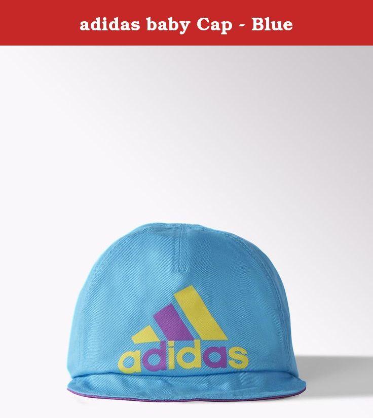 adidas baby Cap - Blue. Elastic in back