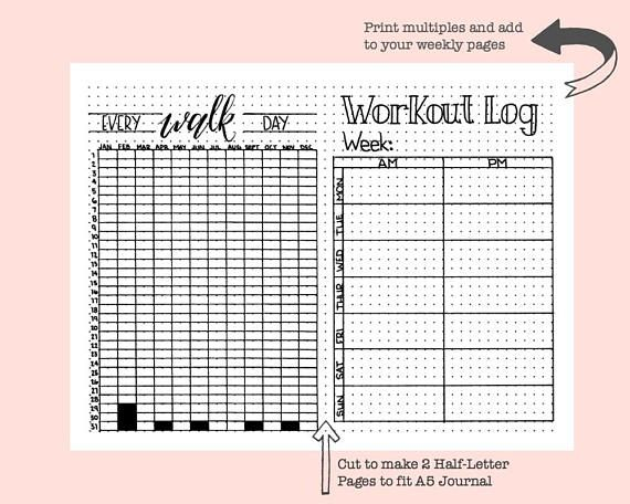 graphic relating to Printable Walking Log identify Going for walks Log Exercise routine Log Planner Include Printable Instantaneous