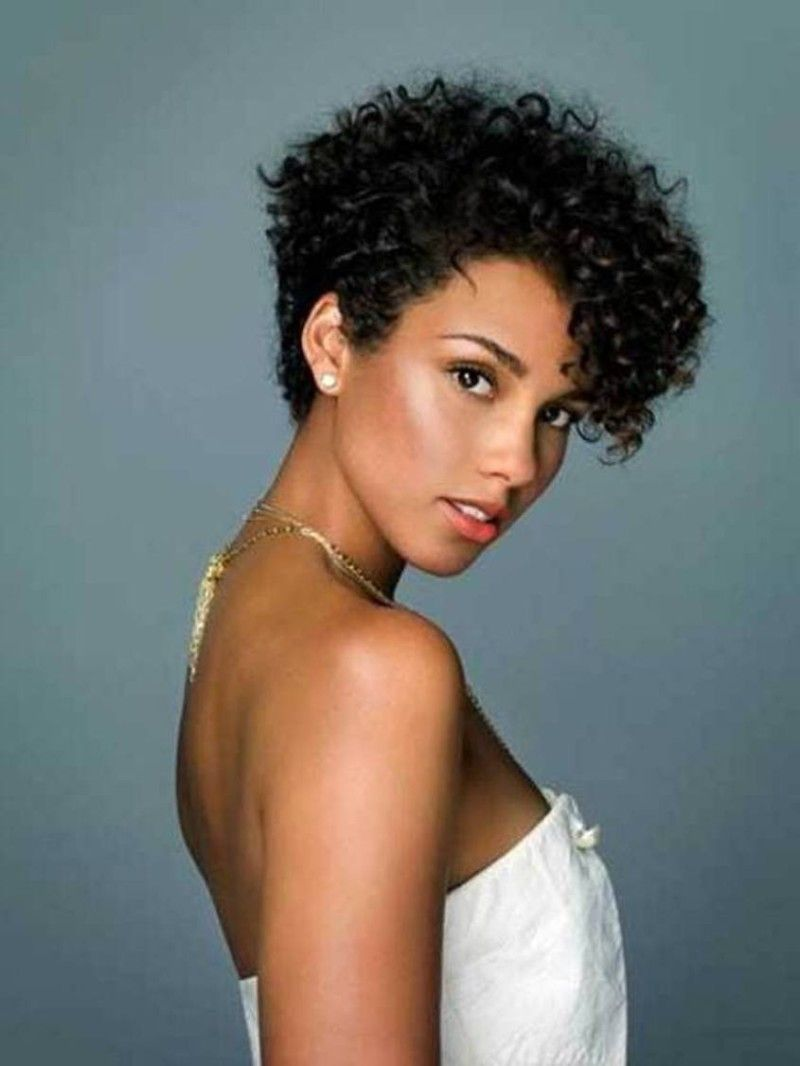 Black Women Curly Short Hairstyles Trend Hairstyle And