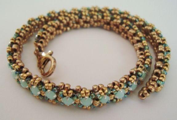 Crystal Summer Ankle Bracelet