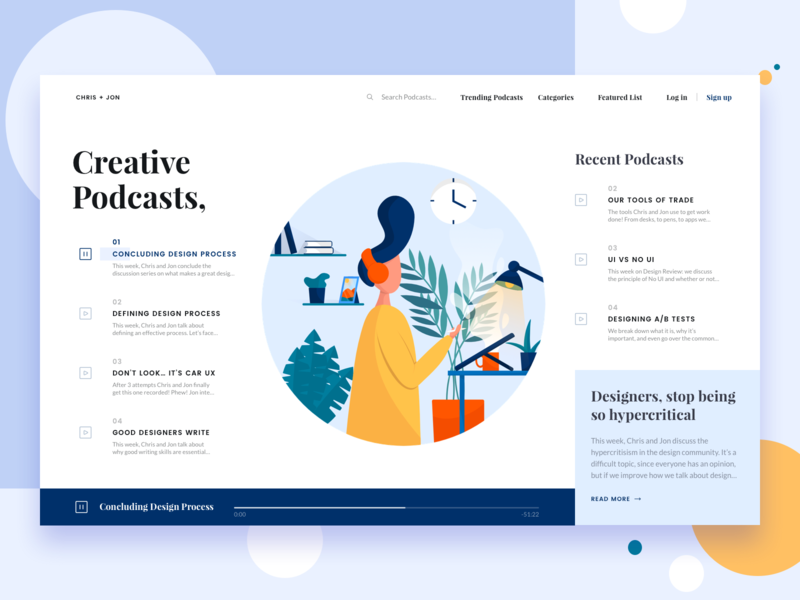 Chris Jon Podcast Design Podcast Web Design Quotes Web Development Design