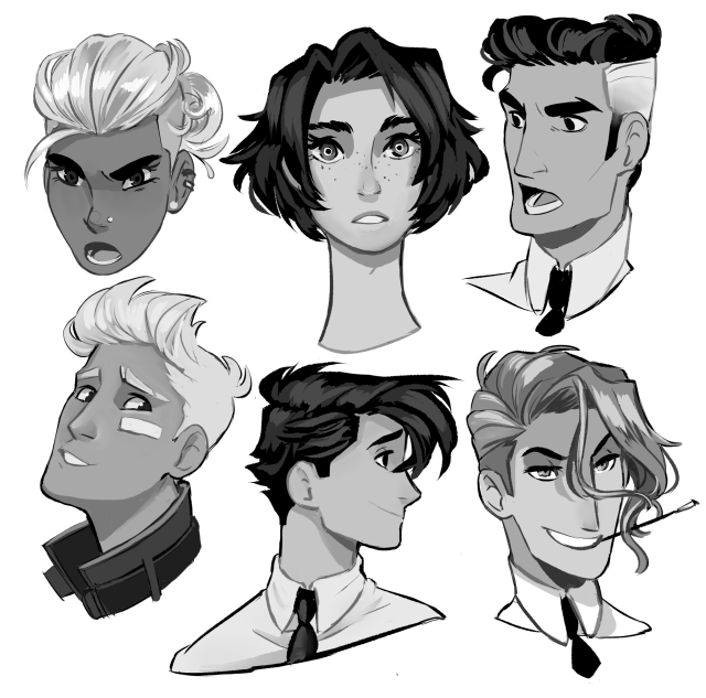 Curly Hair Reference Sheet 2 By Kibbitzer Curly Differenthairstylesreference Hair Kibbi In 2020 Hair Reference Art Reference Drawing Reference