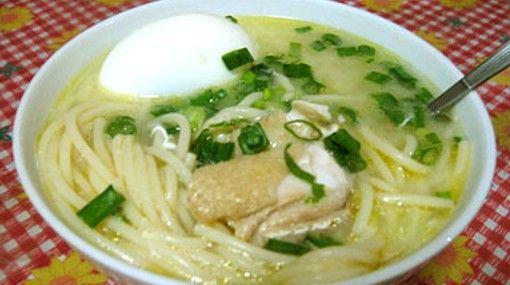 sopa dieta de pollo receta