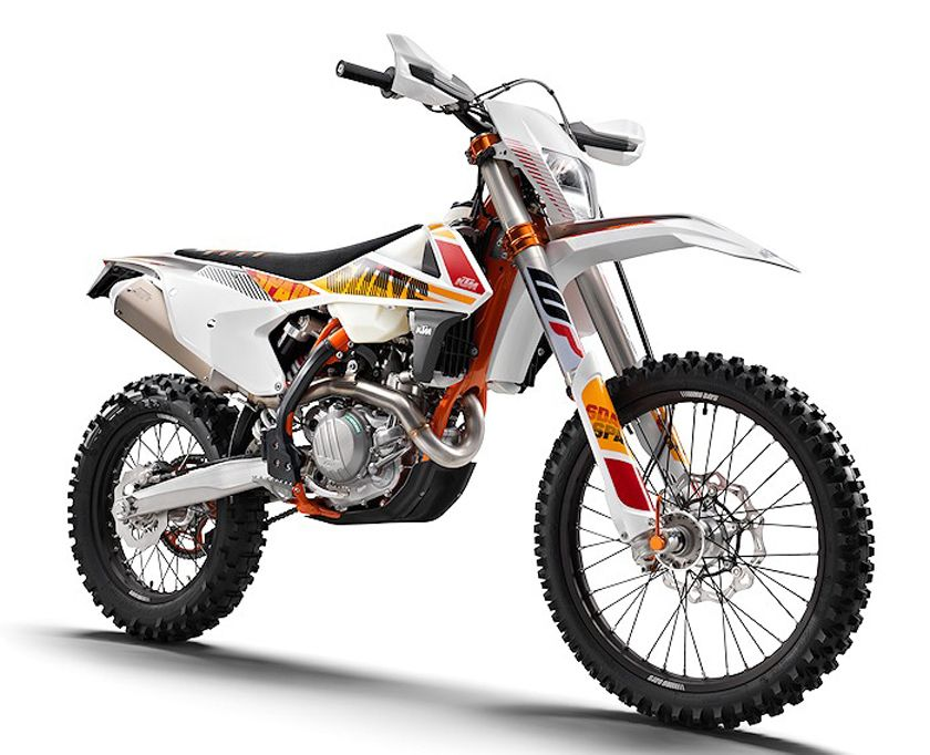 ktm 350 exc-f six days 2017 review with specification | motorcycle