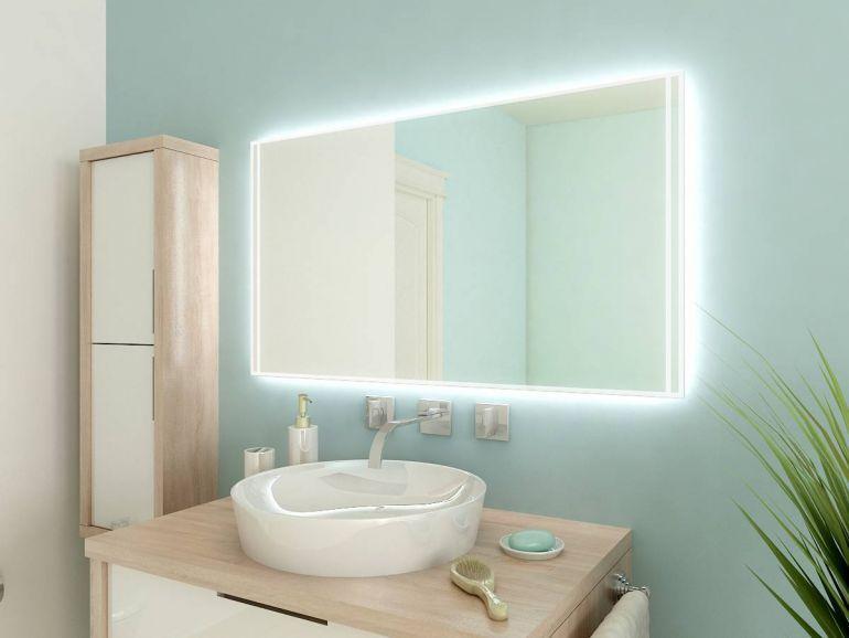Beleuchtung Badezimmerdecke ~ Die besten badspiegel mit led beleuchtung ideen auf