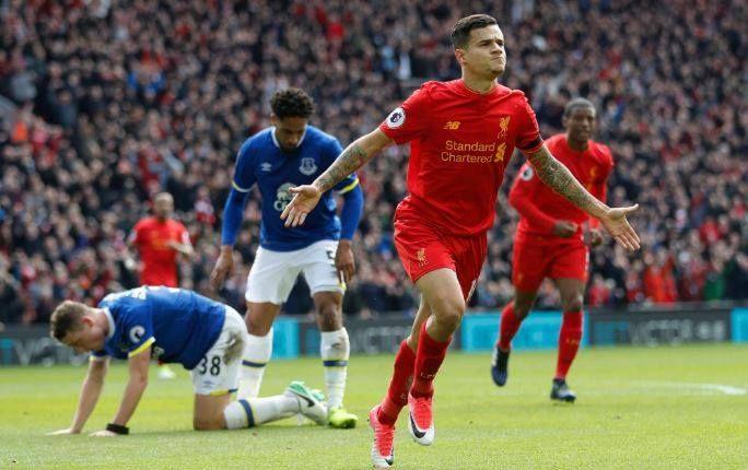 Liverpool-Everton 3-1, tabellino e pagelle: Coutinho da sogno, è festa Reds - http://www.contra-ataque.it/2017/04/01/liverpool-everton-3-1-tabellino-pagelle.html