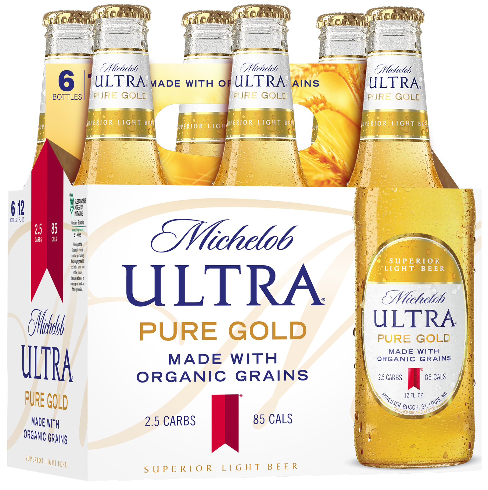 Is Michelob Ultra S New Organic Beer Actually Healthy Well It S Still Beer Healthy Beer Michelob Ultra Beer