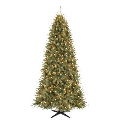 Carrington Pine 7 5 Slim Quick Set Pre Lit Artificial Christmas Tree Christmas Tree Sale Artificial Christmas Tree Christmas Tree Clear Lights