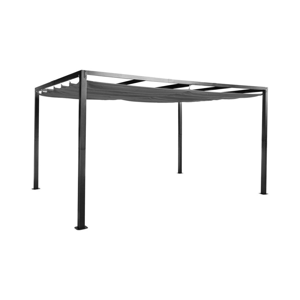 Pawilon Ogrodowy 300 X 400 Cm Pergola Szary Ze Skladanym Zadaszeniem Pawilony Ogrodowe W Atrakcyjnej Cenie W Sklepach Le Home Decor Folding Table Furniture