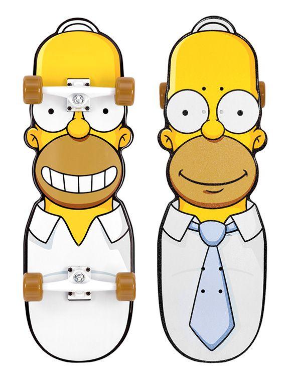 Homer skateboard