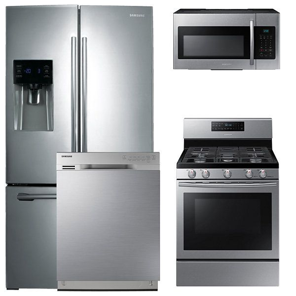 Samsung 4pc. Gas Kitchen Package Stainless Steel