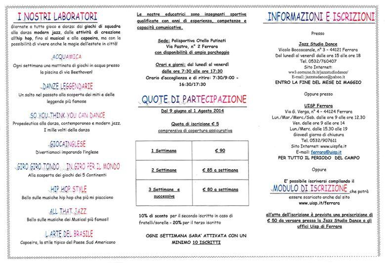 Jazz Studio Dance - Ferrara