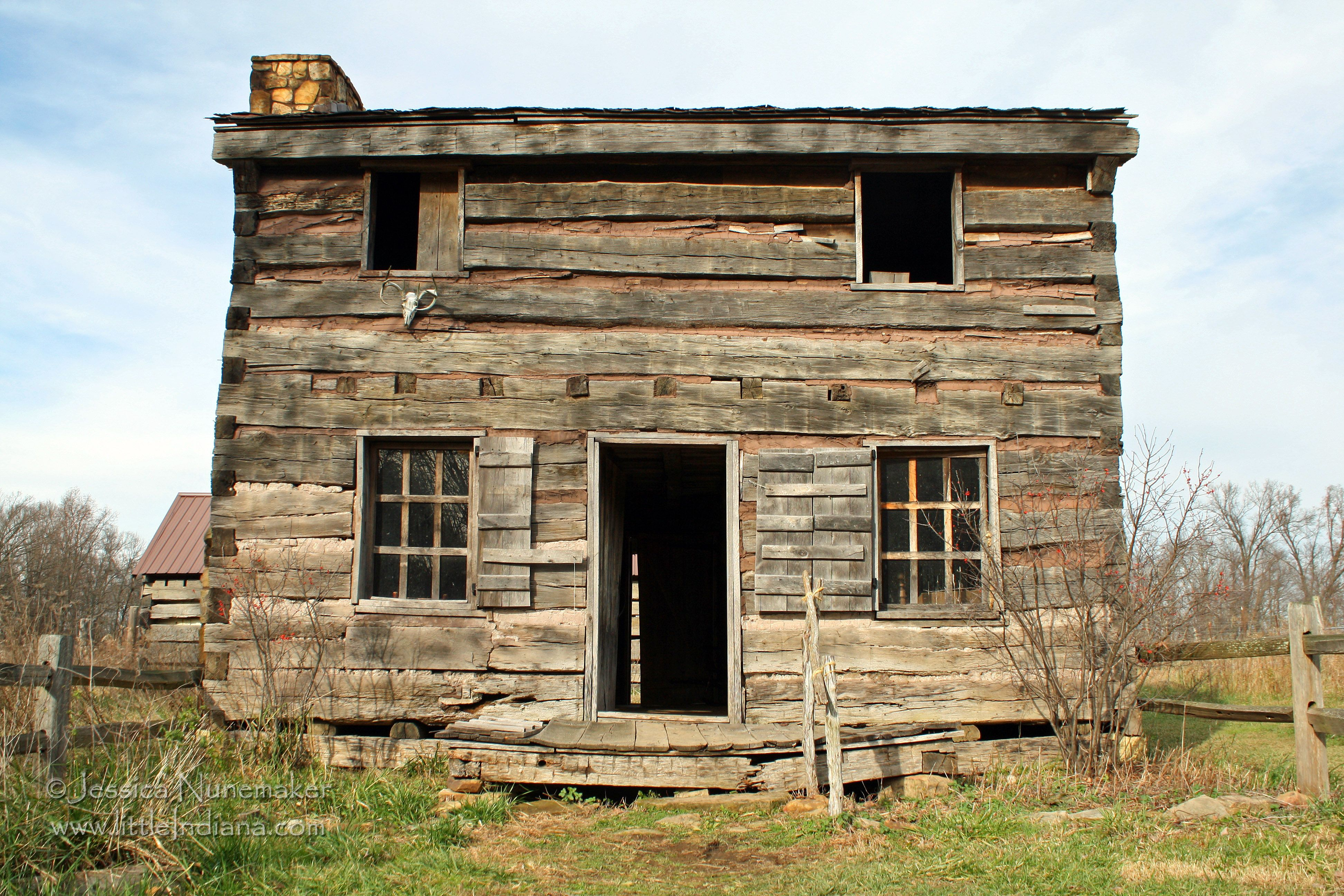 Lincoln Legendary Cabin In Lincoln City Indiana Abe Slept Here Lincoln City Indiana Cabin