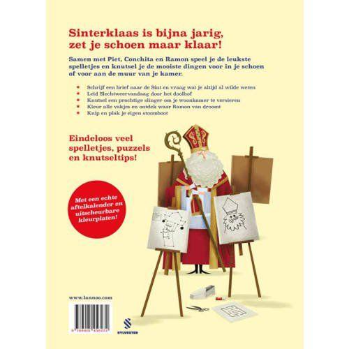 Vos en Haas: Dag Sinterklaas doeboek - Mark Borgions