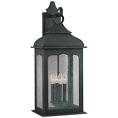 """Henry Street Collection 26 3/4"""" High Outdoor Wall Light"""