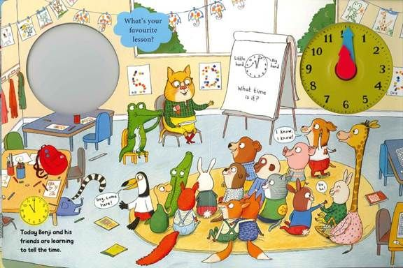 Benji Bear S Busy Day Character Personality 6 Today Freelance Illustrator