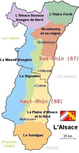 Carte Lalsace.Carte Alsace Gites De France Places 2 Explore Alsace