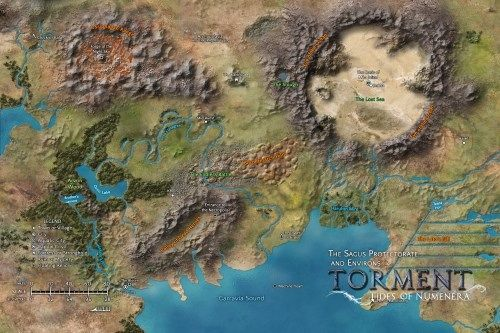 tides of numenera world map Torment Tides Of Numenera By Inxile Entertainment Kickstarter