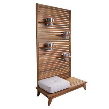 Jardineira zen - land - Westwing.com.br - Tudo para uma casa com estilo. Largura: 100 cm x Altura: 179 cm x Profundidade: 48 cm