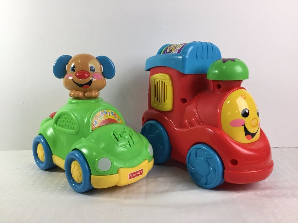 Fisher Price Bundle of 2 Toy Lot Laugh & Learn ABC Train