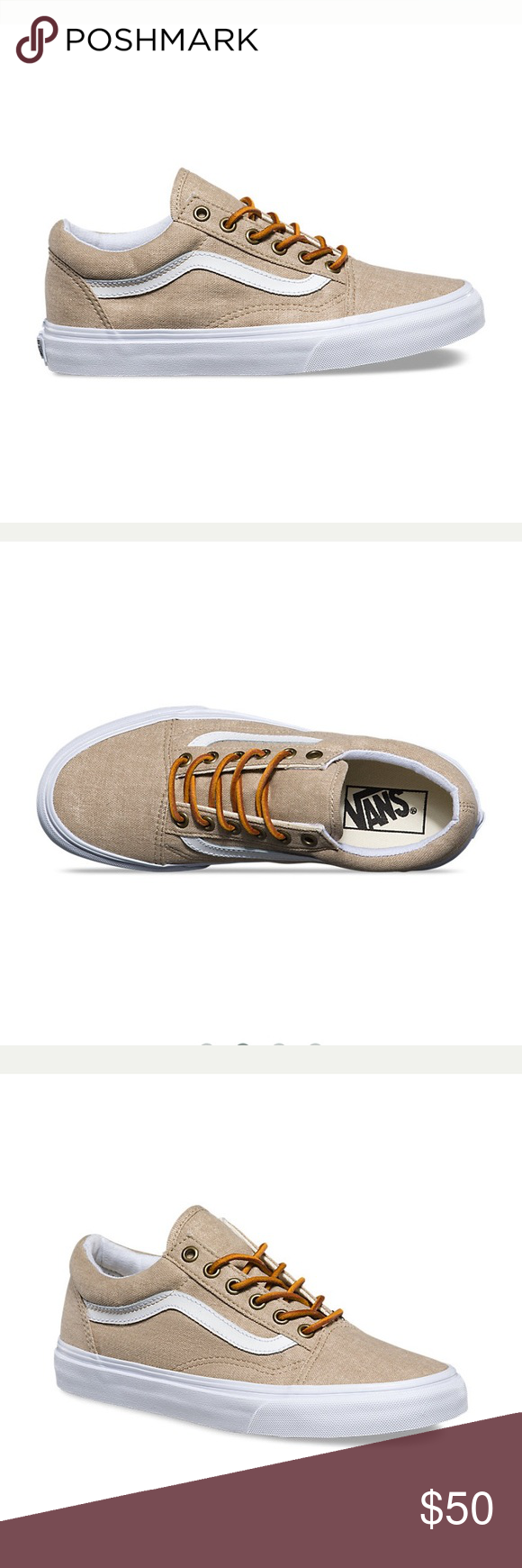 tan vans with leather laces \u003e Clearance