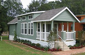 Texas Manufactured Homes Modular Homes And Mobile Homes Titan Factory Direct Mobile Home Exteriors Park Model Homes Forest Cottage