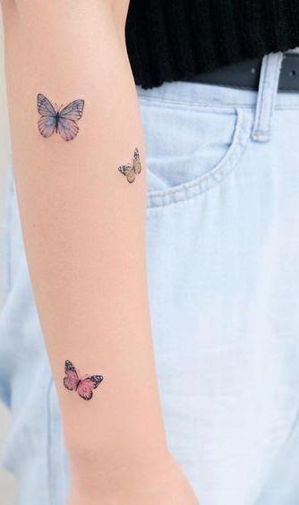 Photo of Schmetterling Tattoos für Sie zu inspirieren