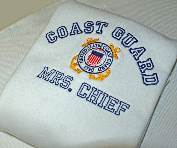 Custom Coast Guard Sweatshirt