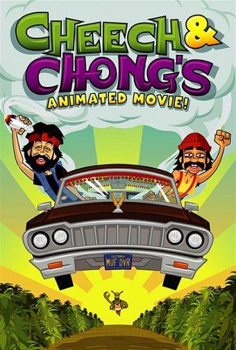 Cheech Y Chong Pelicula Animada 2013 Dvdrip Latino Animated Movies Cheech And Chong Animated Movie Posters