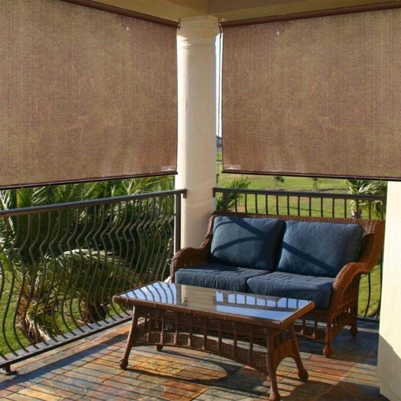 sichtschutz f r den balkon varianten aus holz pflanzen und markisen garten pinterest. Black Bedroom Furniture Sets. Home Design Ideas