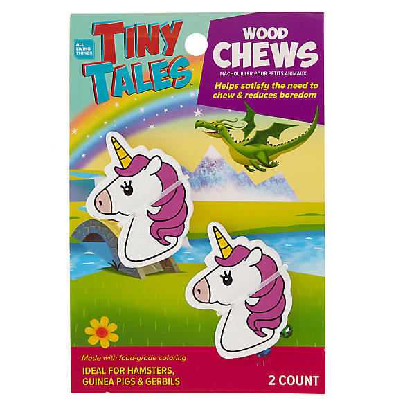 All Living Things Tiny Tales Trade Unicorn Small Pet Chews Small Pets Pet Toys Pets