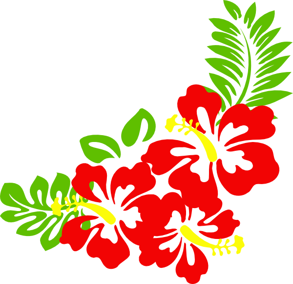 Hawaiian Flower Clipart Hibiscus Clip Art Clip Art Borders Flower Clipart