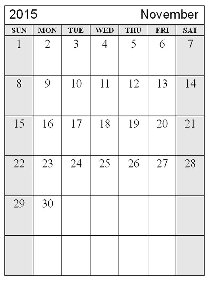 free printable 2015 calendar with us holidays
