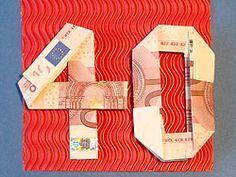 Geldgeschenke Zum 40 Geburtstag Geld Gifts Birthday Und 40th