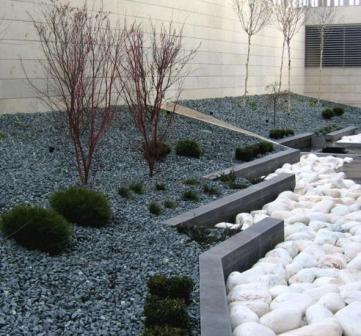 Stunning galets gris jardin pictures design trends 2017 - Galets en vrac ...