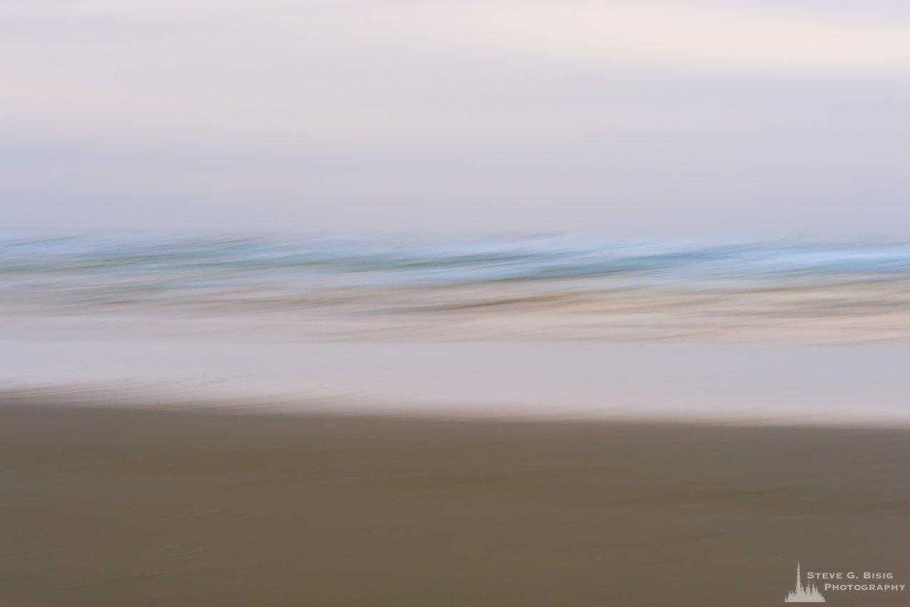 Ocean Beach Abstract No. 1, Copalis Beach, Washington, 2016 | Affordable prints at http://www.stevebisig.com/nature-photography-ocean-beach-abstract-no-1-copalis-beach-washington-2016/ | #nature #art #photography