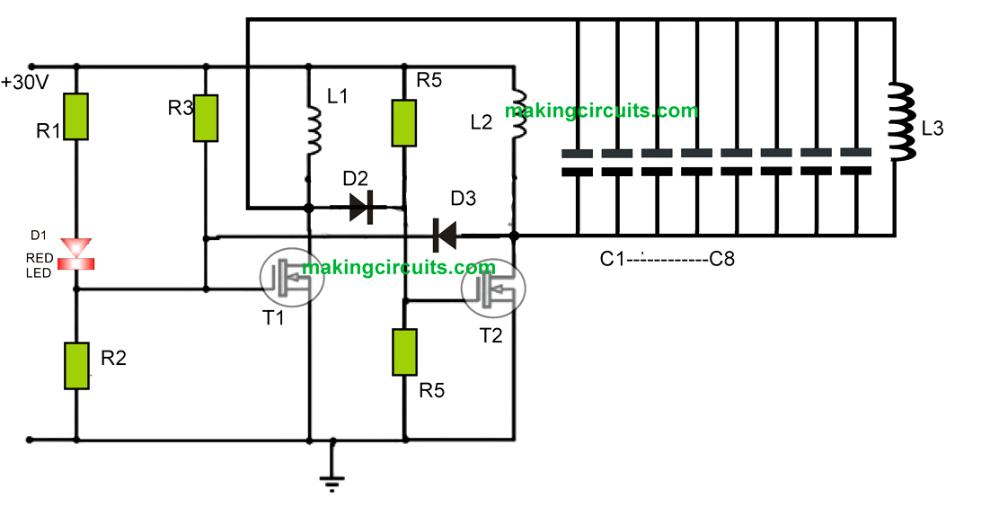 wireless charger transmitter circuit