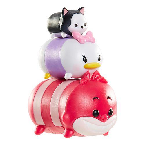 Disney Tsum Tsum 3 Pack Figures Cheshire Cat Daisy Duck And