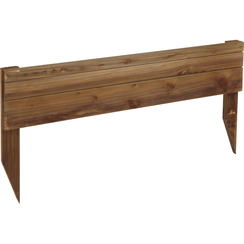 Bordure planter douglas bois marron h 45 x l 90cm 10 - Bordure bois a planter ...