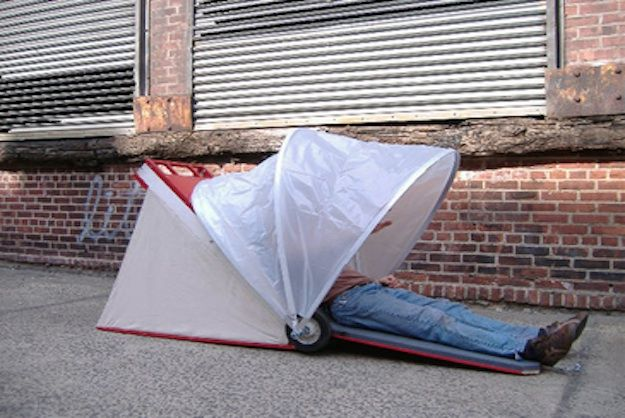 Foldable Urban Shelters Could Solve Homelessness Homeless Shelter Ideas Shelter Design Shelter