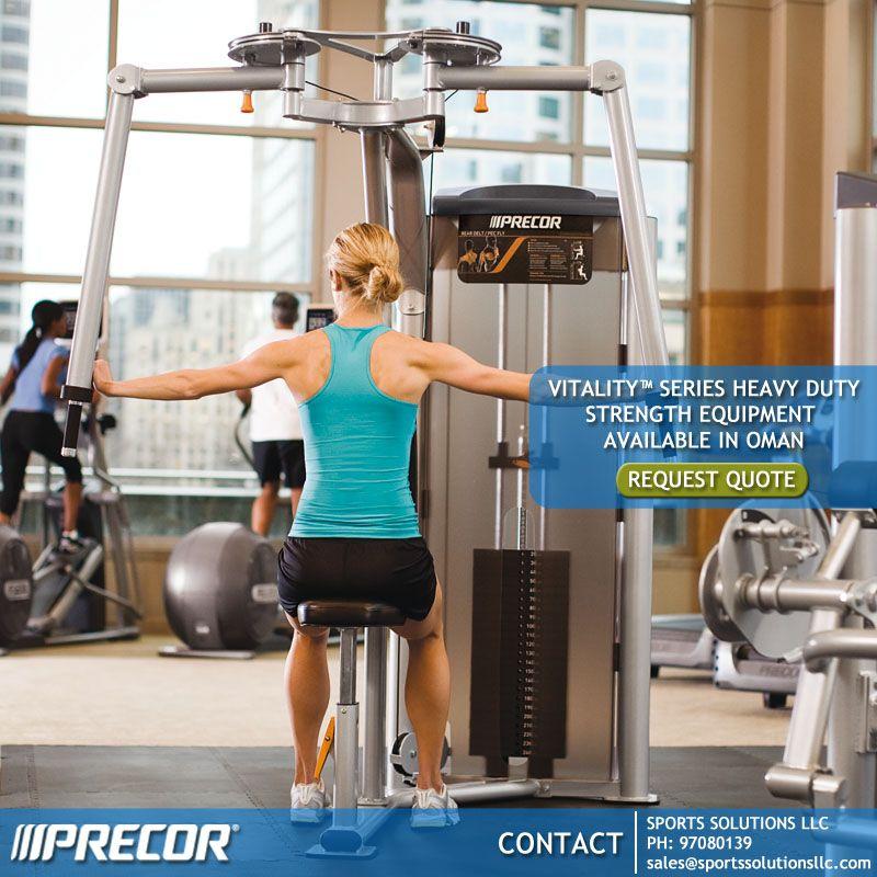 precor Vitality™ Series Heavy Duty Strength Equipment